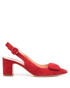 Туфли с заостренным носком и ремешком на пятке Rupert sanderson