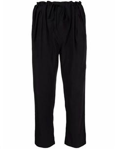 Укороченные брюки с присборенной талией Kristensen du nord