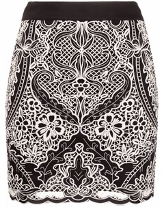 Мини юбка с вышивкой Twinset