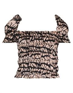Блузка Homecoming со сборками Maki oh