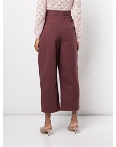 Укороченные брюки Bandini широкого кроя Rachel comey