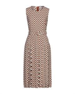 Платье длиной 3 4 Diane von furstenberg