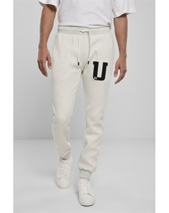 Брюки Frottee Patch Sweatpants Light Grey XL Urban classics