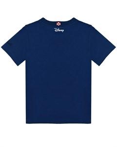 Темно синяя футболка с принтом Mickey детское Saint barth