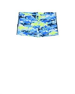 Плавки шорты с принтом акулы детские Saint barth