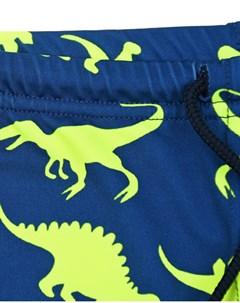 Синие плавки с принтом динозавры детские Saint barth