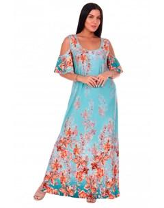 Платье вискозное Ницца ментоловое Инсантрик