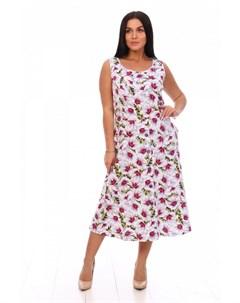 Платье трикотажное Ренэйт цветы Инсантрик