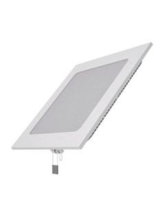 Встраиваемый светильник ультратонкий квадратный IP20 15W 170х170х22 155х155 4000K 1100лм 940111215 Gauss