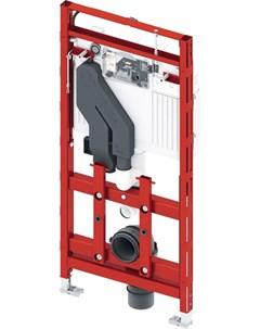 Инсталляция lux 400 9600400 для подвесного унитаза с системой очистки воздуха регулируемая по высоте Tece