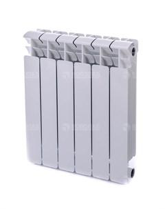 Радиатор биметаллический Base 500 6 секций белый Rifar