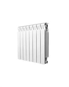 Радиатор биметаллический Monolit 350 10 секций подключение 3 4 белый Rifar