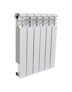 Радиатор биметаллический Profi Bm 500 8 секций белый Rommer