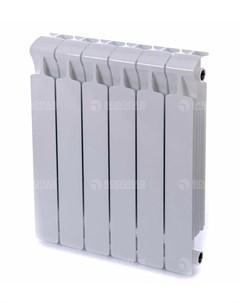 Радиатор биметаллический Monolit 500 8 секций подключение 3 4 белый Rifar