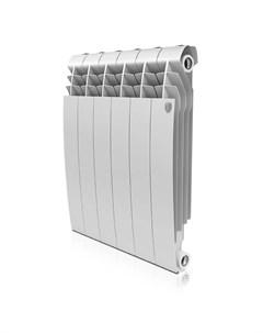 Радиатор BiLiner 500 87мм 12 секций 2052 Вт Би метал Bianco Traffico белый Радиатор BiLiner 500 87мм Royal thermo
