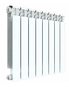 Радиатор биметаллический Alp 500 75 мм 6 секции правое подключение белый Rifar