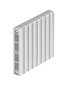 Радиатор биметаллический SUPReMO 500 4 секции 3 4 белый Rifar