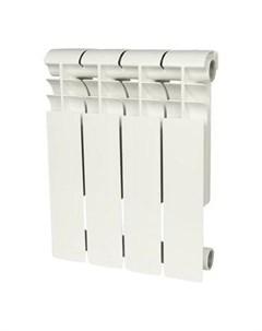 Радиатор биметаллический Profi Bm 350 4 секции белый Rommer
