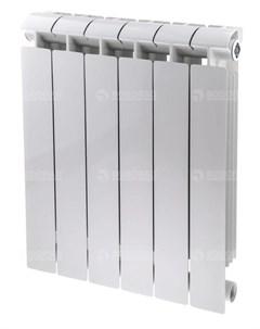 Радиатор биметаллический Style Extra 500 14 секций белый Global