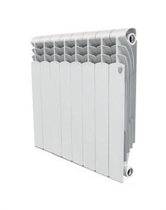 Радиатор Revolution 500 80мм 8 секций 1280Вт Би метал белый Royal thermo