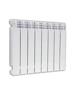 Радиатор биметаллический Alustal 500 10 секций белый Fondital