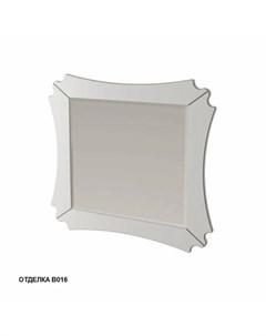 Зеркало Бурже 11031 B016 80 10см цвет blanco allumino Caprigo