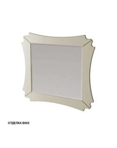 Зеркало Бурже 11031 B002 80 10см цвет blanco antico Caprigo