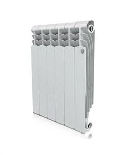 Радиатор Revolution 500 80мм 6 секций 960Вт Би метал белый Royal thermo