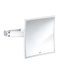 Зеркало Selection Cube 40808000 косметическое хром Grohe