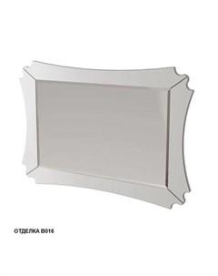 Зеркало Бурже 11032 B016 130см цвет blanco allumino Caprigo
