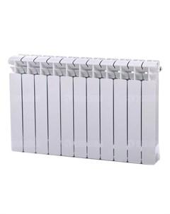 Радиатор биметаллический Base 500 Ventil 8 секций нижнее подключение слева белый Rifar
