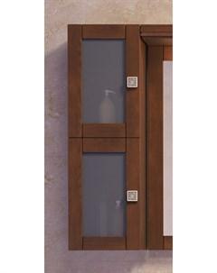 Шкаф навесной Мираж светлый орех Opadiris