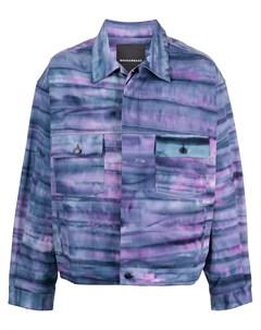 Куртка рубашка с принтом тай дай Rochambeau