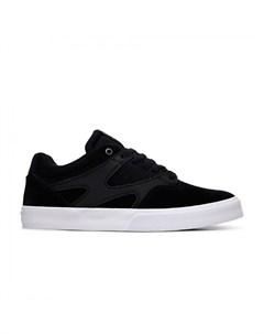 Кеды Kalis Vulc S M Shoe Black Black White 2021 Dc shoes