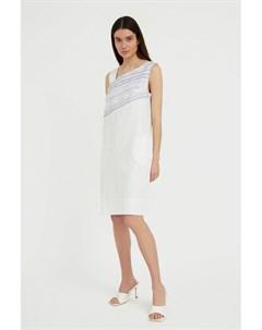 Платье из льна и хлопка Finn flare