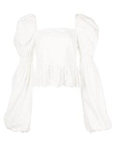 Блузка Wren с цветочной вышивкой Caroline constas