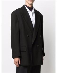 Двубортный пиджак с заостренными лацканами Fear of god