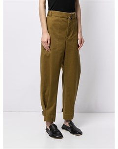 Зауженные брюки с поясом Proenza schouler white label