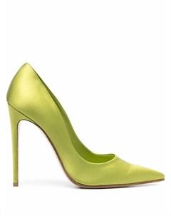 Атласные туфли Amanda с заостренным носком Giuliano galiano