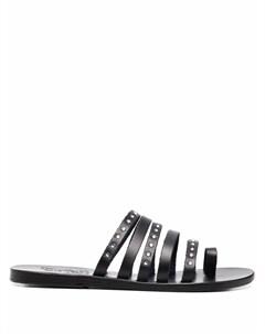 Сандалии Niki с кристаллами Ancient greek sandals