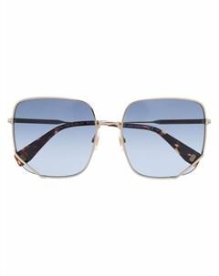 Солнцезащитные очки в шестиугольной оправе Marc jacobs eyewear