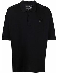 Рубашка поло с графичным принтом Raf simons x fred perry