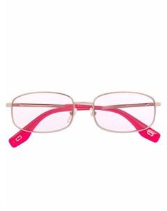Солнцезащитные очки в прямоугольной оправе Marc jacobs eyewear