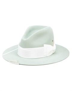 Шляпа федора с бантом Nick fouquet