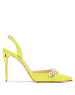 Туфли Vittorio 105 с кристаллами Jennifer chamandi