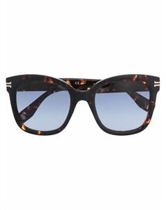 Солнцезащитные очки в квадратной оправе Marc jacobs eyewear