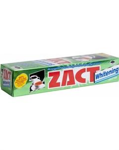 Зубная паста Zact Whitening с отбеливающим эффектом 100 гр Lion