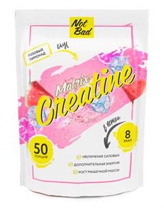 Креатин моногидрат Creatine Matrix вкус Розовый лимонад 250 г Notbad