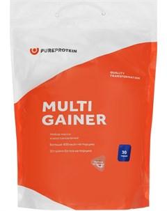 Мультикомпонентный гейнер вкус Клубника со сливками 3 кг Pure Protein Pureprotein