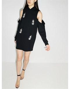 Платье джемпер с кристаллами Area